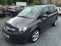 2011 Vauxhall/Opel Zafira 1.7CDTi 16v ecoFLEX ( 125ps ) 2011.5MY SRi