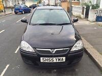 2005 Vauxhall Corsa Manual Petrol 1.2 i 16v SXi+ 3dr Hatchback Black Hpi Clear