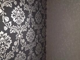 Wallpaper and painting work