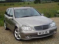 2004/54 Mercedes-Benz C220 2.1TD auto CDI Avantgarde SE, 89K, **DVD PLAYER**