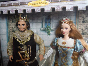 King Arthur and Guinevere Collectible Barbie Prince George British Columbia image 2