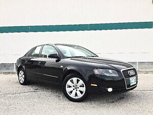 07 Audi A4, 6 speed, Turbo, SAFTIED! LOADED! CLEAN TITLE!