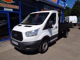 2015 FORD TRANSIT 125 350 TIPPER......FORD MANUFACTURERS WARRANTY ..... TIPPER D