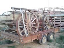 Vintage horse wagon for gfarden ornament or display Irymple Mildura City Preview