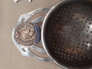 Vintage Silver Collectable Queen Elizabeth 2nd Tea Strainer