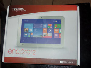 Brand new Toshiba tablet computer with window 8 still in box