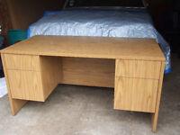 Excellent  condition oak desk only $47.50