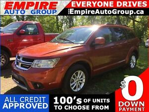 2014 DODGE JOURNEY SXT * PREMIUM CLOTH SEATING * SAT RADIO SYSTE