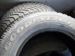 4 Good year Nordic M+S 215/65R16 winter Tires for sale