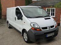 We buy all Renault trafic, Vauxhall Vivaro, Nissan primastar vans running or non running