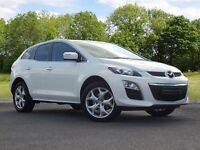 Mazda CX-7 2.2 TD Sport Tech 5dr (white) 2011
