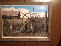 John Stone Limited Edition Print - Pheasants and Memories