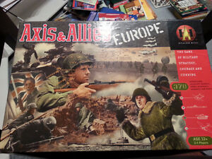 Axis and Allies Europe Board Game