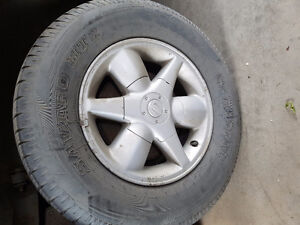 16 Rims+tires for Nissan