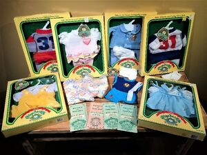 Vintage Early 1980's Cabbage Patch Kids Clothes & Accessories