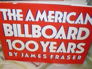 the American Billboard Book on advertising posters