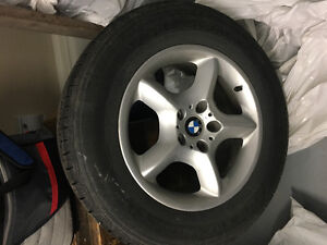 BMW Rims for X5 and 4 new all season tires