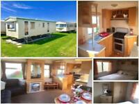 STATIC CARAVAN SITED & READY TO MOVE INTO FOR SALE IN NORFOLK BY THE BEACH