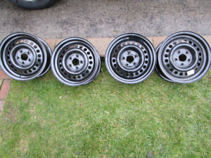 STEEL RIMS 5 BOLT 14 INCH price for all four