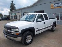 CALIFORNIA TRUCK NEVER SEEN SNOW OR SALT 1999 SILVERADO 2500 4X4