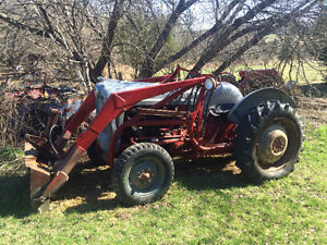 TWO 1953 Ford Jubilee Limited Edition Tractors