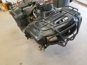 2007 Suzuki eiger fourwheeler for parts or repair