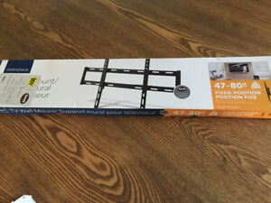 """Insignia Fixed-Position 47 - 80"""" TV Wall Mount"""