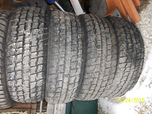 4-195-65-15 Weather Master snow tires studded