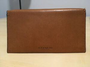 COACH Men's Wallet and Cell Phone Case