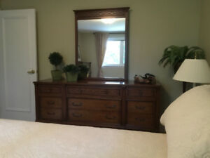 Gorgeous Gibbard 7pce Bedroom Suite. Solid Wood.$1,288.00