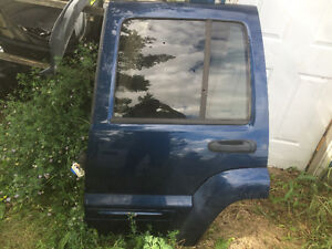 Jeep Liberty Driver Rear Door  - 2003