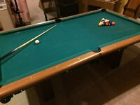 4 X 8 SLATE POOL TABLE