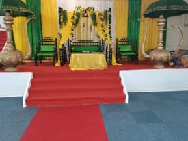 Wedding&mendhi stage hire