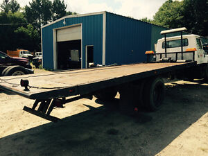 22 ft tilt and load tow truck bed