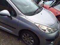 Peugeot 207 1.4 petrol very clean car but spares or repair head gas kit issue
