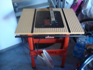 IRS Brand Table Saw Table Cambridge Kitchener Area image 1