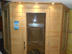 SAUNA  by Clear Light 3 person hardly used Infrared