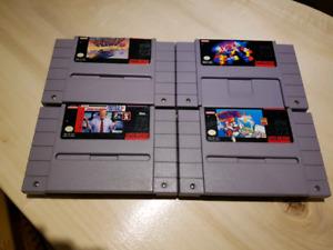 Super Nintendo Games for Sale