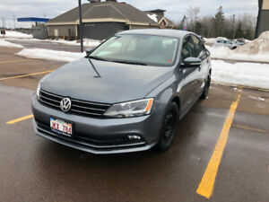 2015 Volkswagen Jetta TDI with ONLY 72,600km