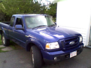 2006 Ford Ranger 4x4 sport Pickup Truck (parts or repair)