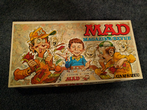 Vintage Mad Magazine board game