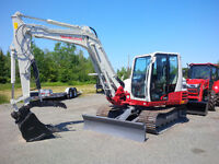 NEW Takeuchi TB290 Excavator Lease or Finance only $1969.00 / M
