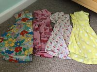 Next dresses size 12-18 months.