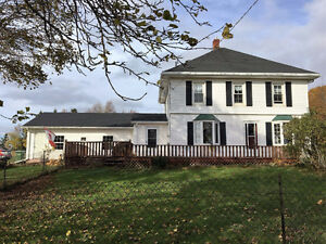 Family home with attached heated garage on 3.5 acres