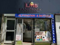 DRY-CLEANING AND SHOE REPAIR BUSINESS FOR QUICK SALE , REF: LM259