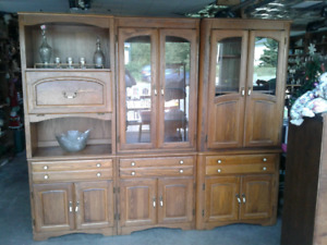 Beautiful wooden (this is  not presswood)cabinet