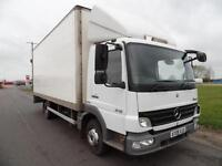 Mercedes-Benz Atego 818 Box with Column Tail Lift