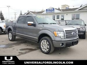 2010 Ford F-150 Platinum 4x4 w/SYNC Bluetooth, Moonroof, Navigat