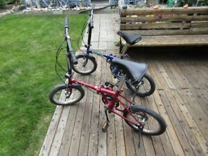A very nice folding bike-His & Hers!  (Hers SOLD)