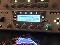 Kemper Profiling Amplifier + Behringer FCB1010 + Focusrite Scarlett 8i6